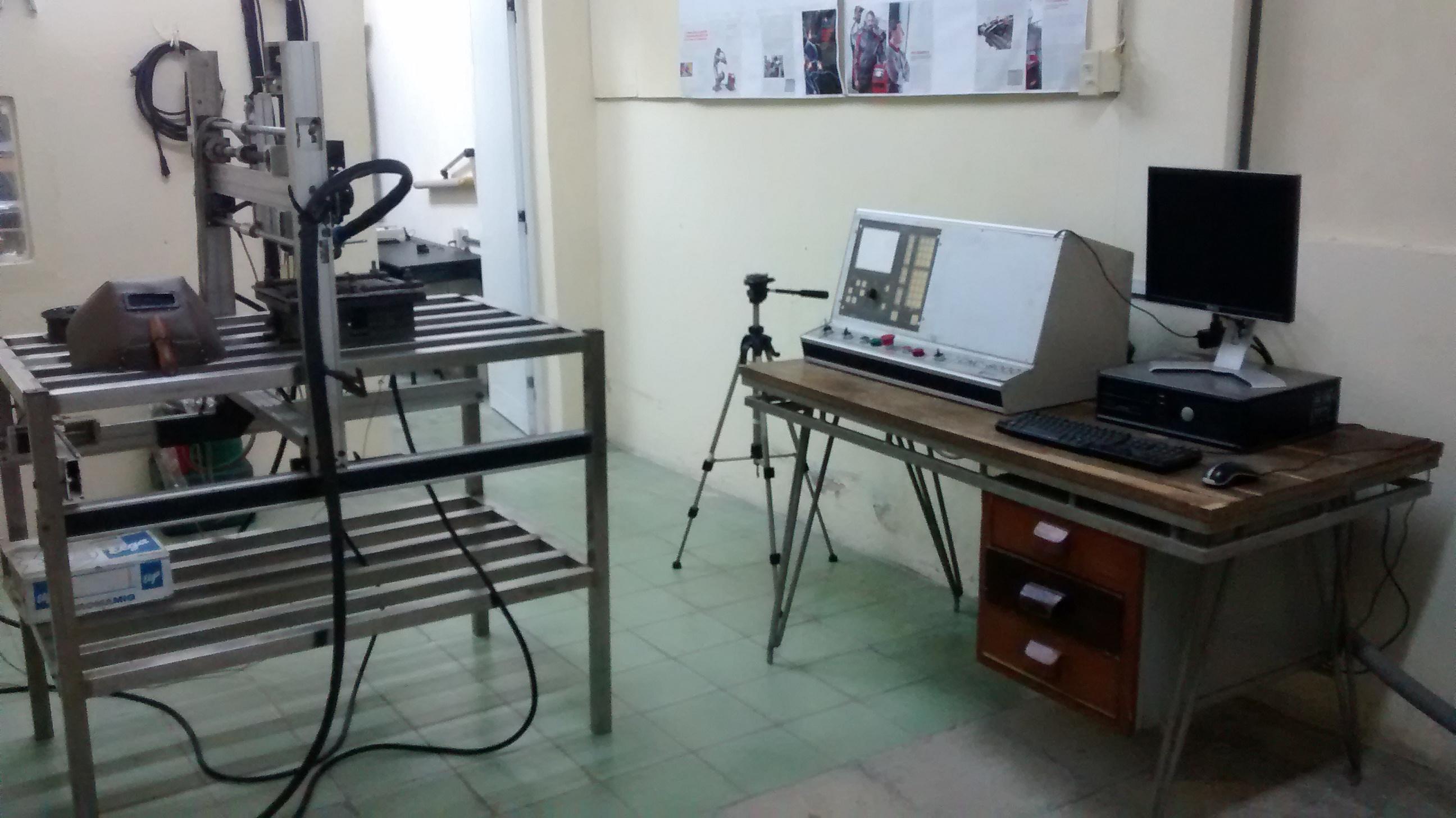 Vista Parcial del Laboratorio